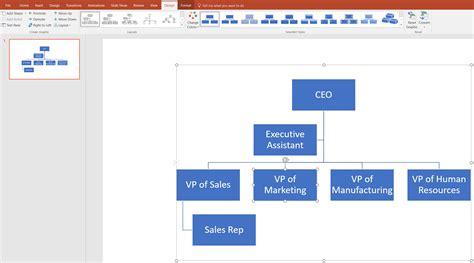 org chart  powerpoint lucidchart