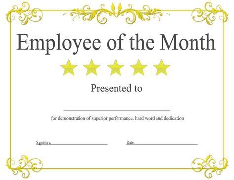 employee of the month award kukook