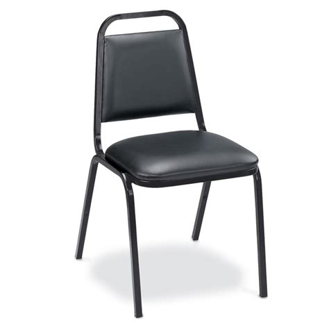 stacking chair with vinyl fabric events upbeat