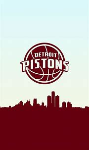 Detroit Pistons Basketball Phone Background in 2020 ...