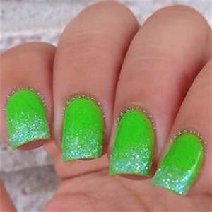 1000 ideas about Neon Green Nails on Pinterest