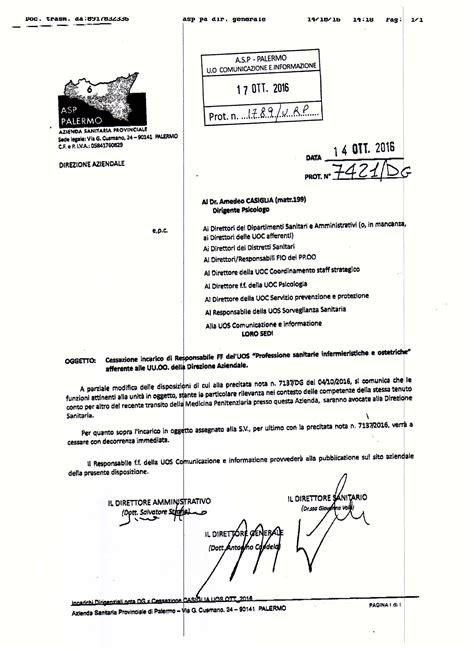 Nomina Rspp Interno Azienda U S L 6 Palermo