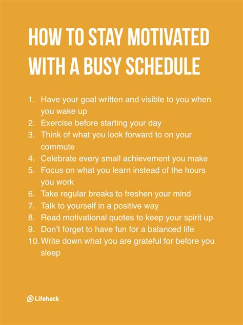 if you can read if you feel overwhelmed by your busy schedule motivate