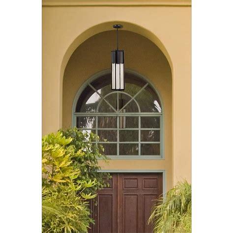 hinkley shelter 24 1 2 quot high black outdoor hanging light