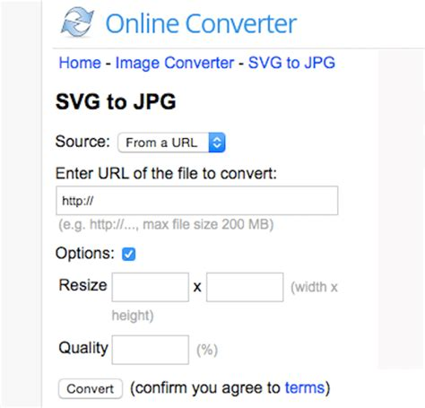 Convert svg (scalable vector graphics file) to jpg (joint photographic experts group jfif format) in high quality using this free online file converter. How to Convert SVG to JPG