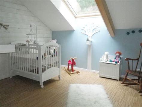 chambre nordique une chambre bleue pour la