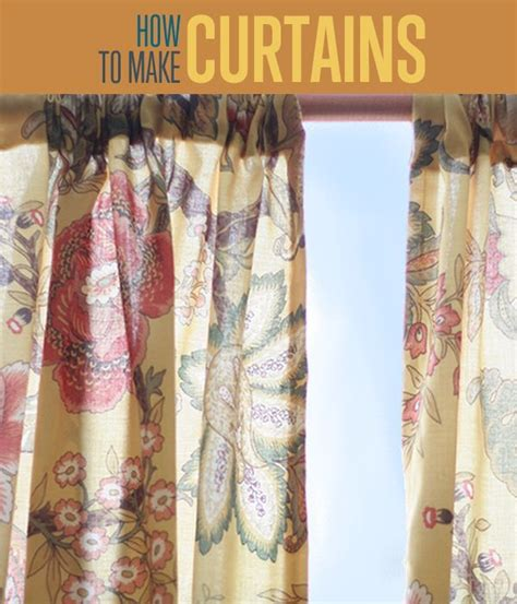 curtain ideas how to make curtains easy sewing tutorial