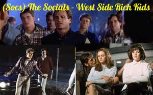 From the Outsiders SoCs Characters