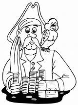 Coloring Pages Pirates Boys Printable sketch template