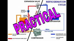 Refrigeration Cycle Practical  How A Refrigerator And Air