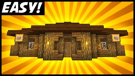 small spacious simple house minecraft tutorial youtube