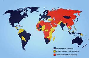 Most Democratic countries in the world