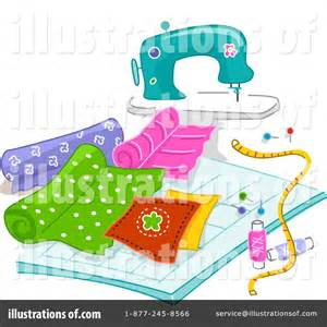 Royalty Free Sewing Clip Art