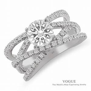 showcase has stunning new rings the salina post With 3 crossing wedding bands engagement ring