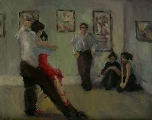 Connie chadwell39s hackberry street studio the tango for Dance where you sit on the floor