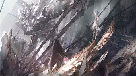 Neon Genesis Evangelion, Ayanami Rei, EVA Unit 01, Anime