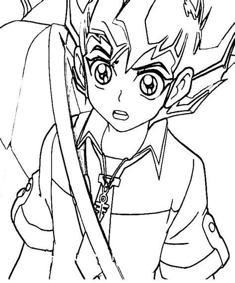 disegni da colorare di yu gi oh il protagonista di yu gi oh disegno da colorare disegni