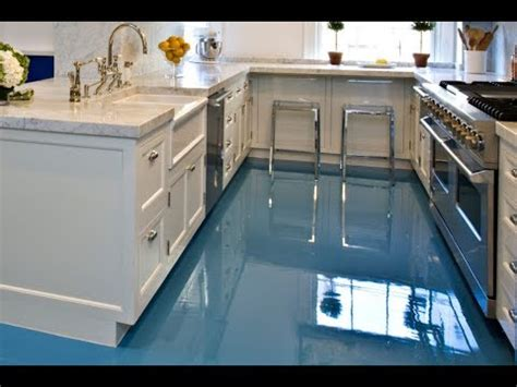 Cool Kitchen 3d Epoxy Flooring  Home Decoration Ideas