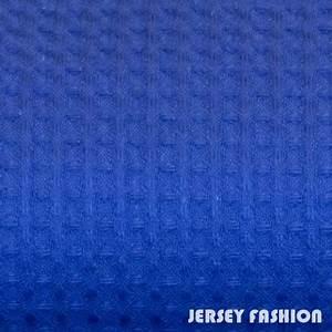 Pique Stoff Eigenschaften : restst ck 200cm waffelpikee gofre baumwolle royal blau mittel blau jersey fashion ~ Frokenaadalensverden.com Haus und Dekorationen