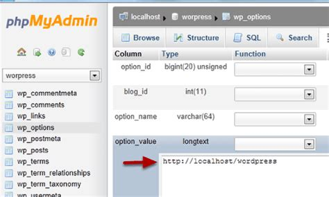 Change The Site Url And Home Url On A Wordpress Site