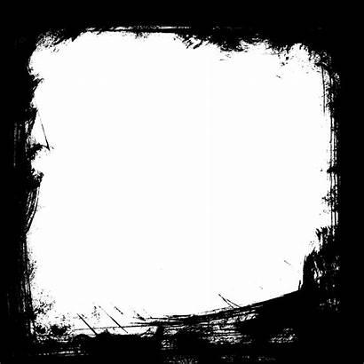 Grunge Frame Border Square Transparent Psd Vector