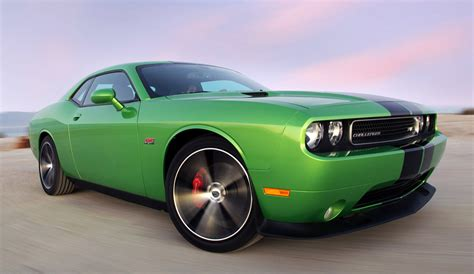 2011 Dodge Challenger Srt8 392 With Green With Envy