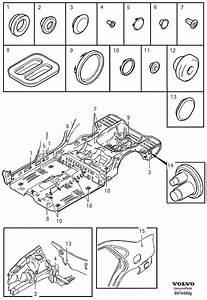 2001 Volvo V40 Plug  Door  Components  Tailgate