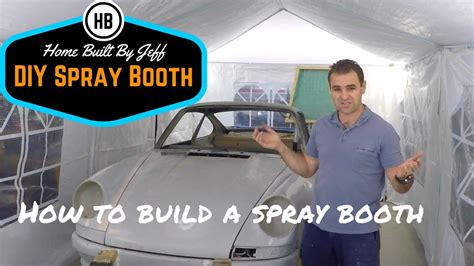 How To Build A Spray Booth  Part 1 Youtube