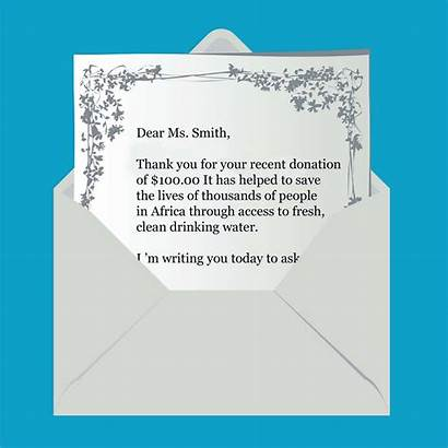 Letter Fundraising Direct Mail Raising Fund Mailing