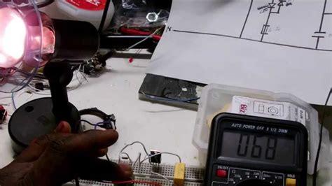 Light Dimmer Circuit Using Triac Youtube