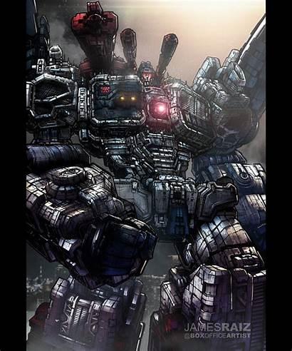 Metroplex Transformers James Raiz Boxofficeartist Artwork Detailed
