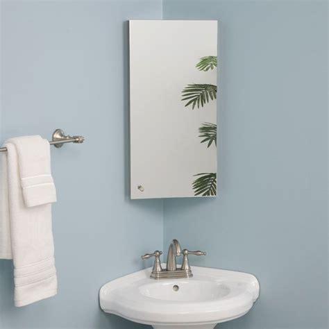 Corner Bathroom Medicine Cabinet Mirrors by 1000 Images About Corner Mirror On Corner