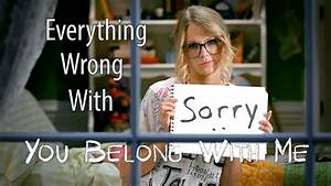 """Everything Wrong With Taylor Swift - """"You Belong With Me ..."""