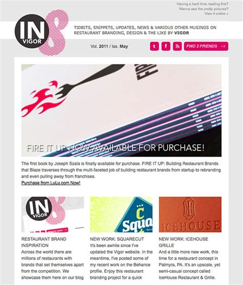 email newsletters inspiration youll love designbump