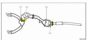 2001 Subaru Forester Exhaust System Diagram