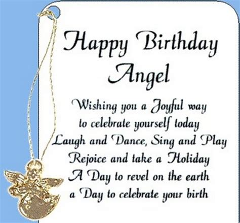 happy birthday angel wishes wishesgreeting