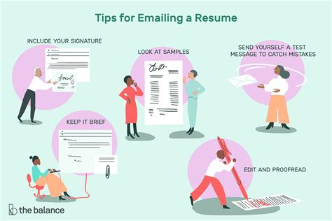 How To Email Resume by How To Email A Resume To An Employer