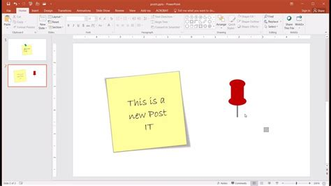 create  post  note effect youtube