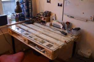 1001 Ideen F 252 R Schreibtisch Selber Bauen 21 Ideen Aus Paletten