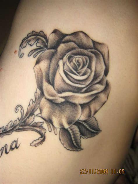 universal tattoo black rose tattoo