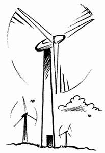 electricity factsheets educate explore national With wind power