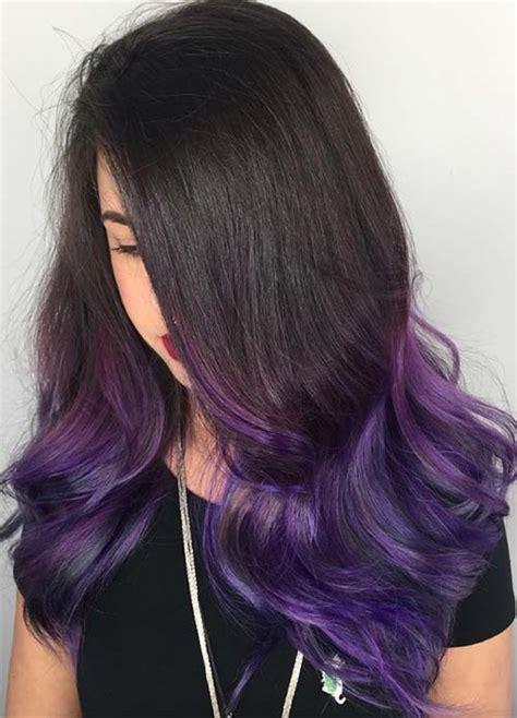 black purple hair color 100 hair colors black brown