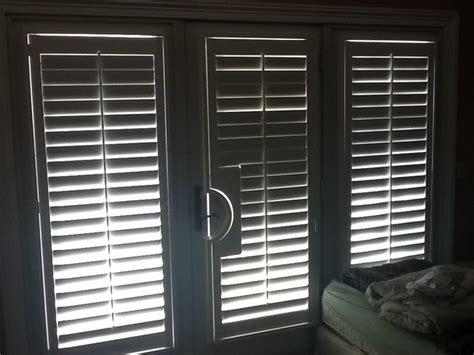 interior faux wood plantation shutters