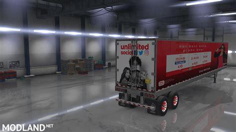 volvo vnl  combo skin mod  american truck simulator