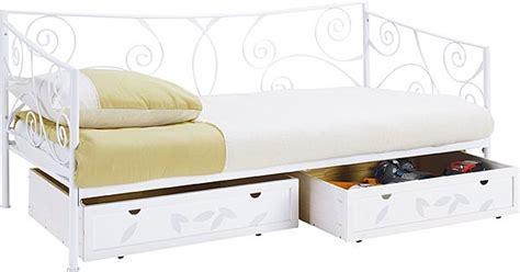 lit banquette fer forg 233 conforama table de lit