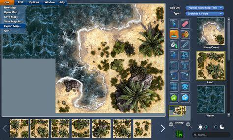 mapforge battlemap creation software  tabletop rpgs