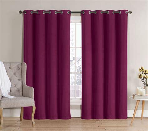 kmart pink blackout curtains classics neil blackout grommet panel 52x90