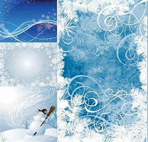 Winter vector background Free vector in Encapsulated ...