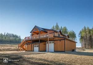 sandy oregon barn home project dc builders With barn homes oregon