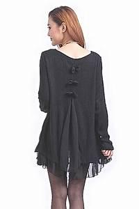 Robe Boheme Courte : robe courte tunique noeud dos boho boheme chic ~ Melissatoandfro.com Idées de Décoration